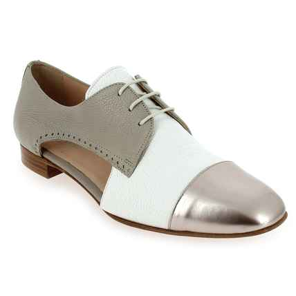 Chaussure Pertini modèle 181W13508D3, Blanc Taupe - vue 0
