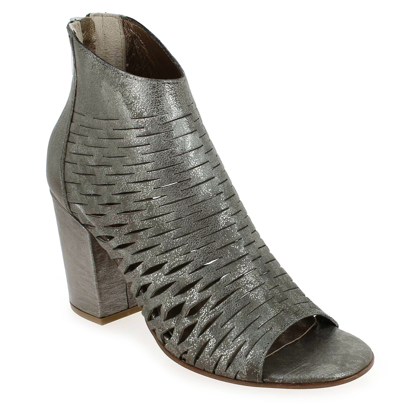 Chaussure Progetto U012 GIPSY argent Femme solde