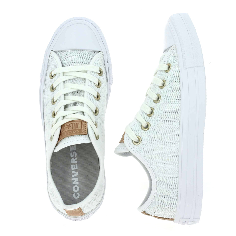 01 Femme Chuck Converse Blanc Chaussures Chaussure Taylor Pour All Ox 5540101 Réf55401 Star wkX8OnN0PZ