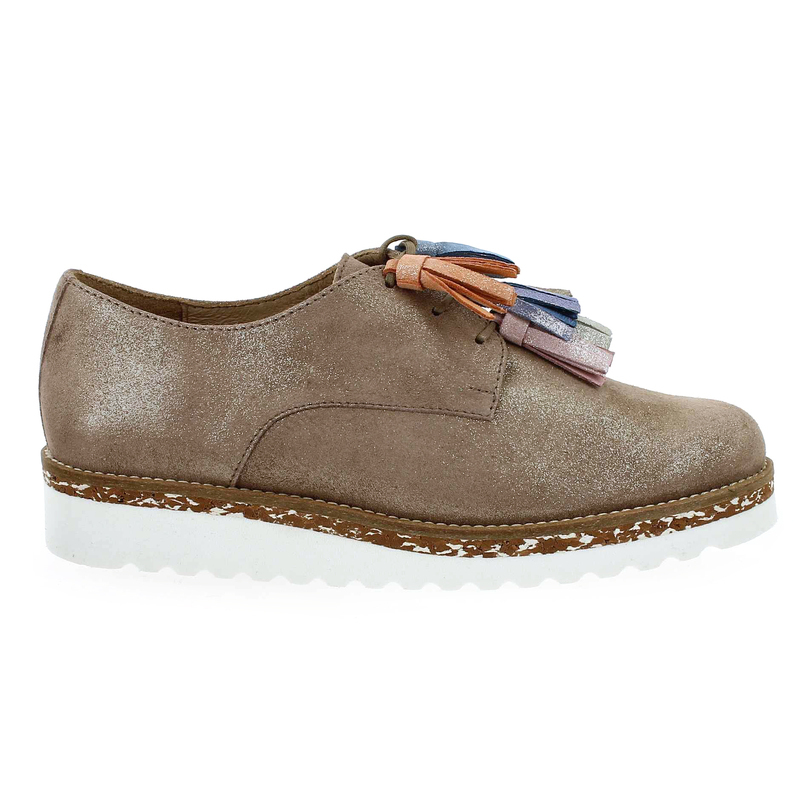 Chaussure PintoDiBlu  20461 marron couleur Taupe Multi - vue 1