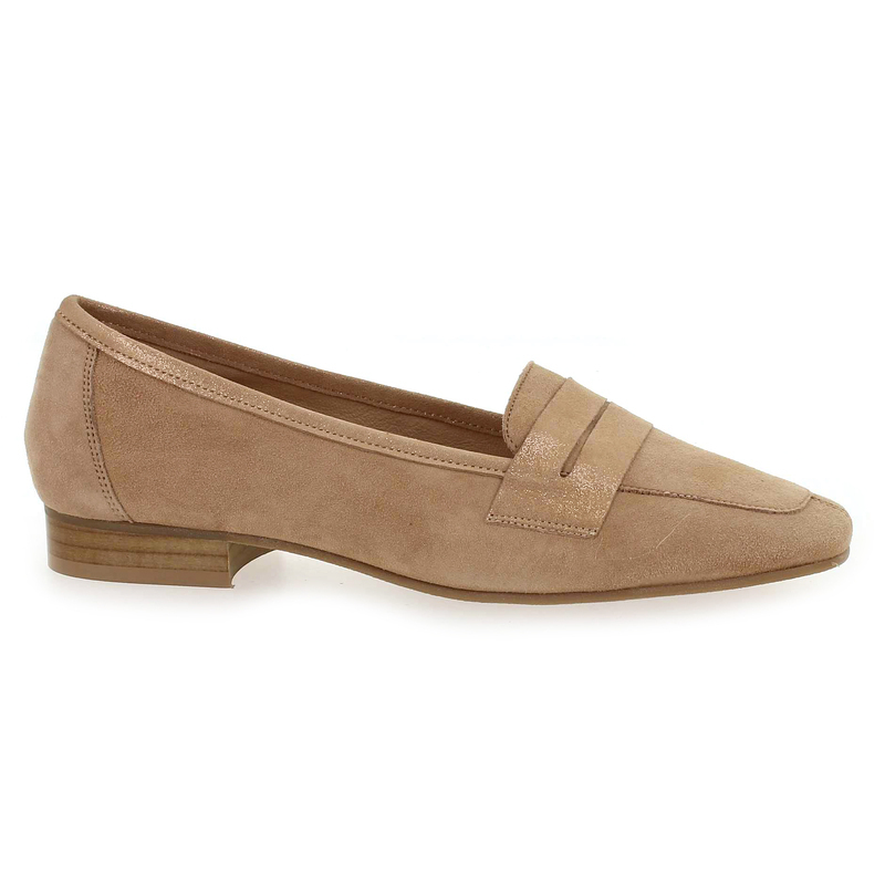 Chaussure We Do 11029 Z beige couleur Velours Charbon - vue 1