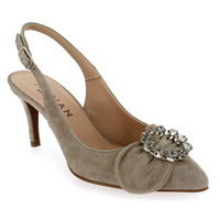 Chaussure Marian  modèle 2611, Velours Taupe - vue 0