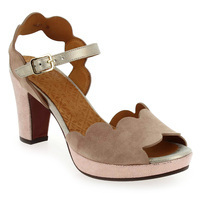 Chaussure Chie Mihara modèle EVOLET, Rose pastel Or - vue 0