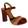 Chaussure Chie Mihara modèle CANDEL, Velours Multi - vue 0