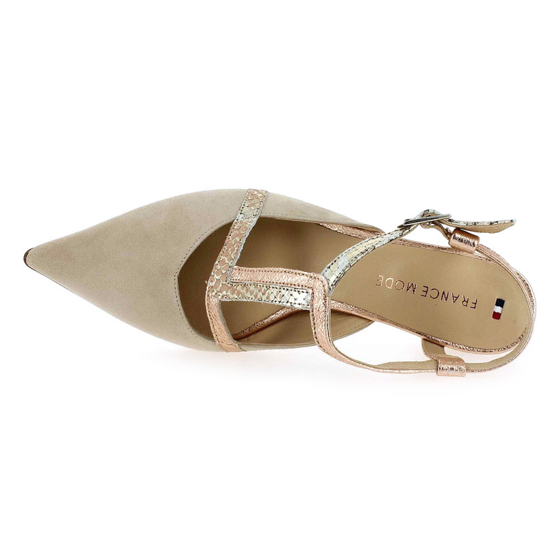 Femme Chaussures 5552401 Pour Réf55524 France Beige 01 Chaussure Mode Forever On0vmNw8