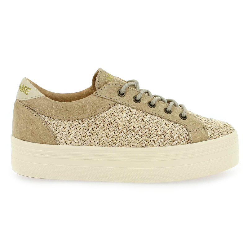 Chaussure No Name PLATO BRIDGE STRAW beige couleur Beige - vue 1