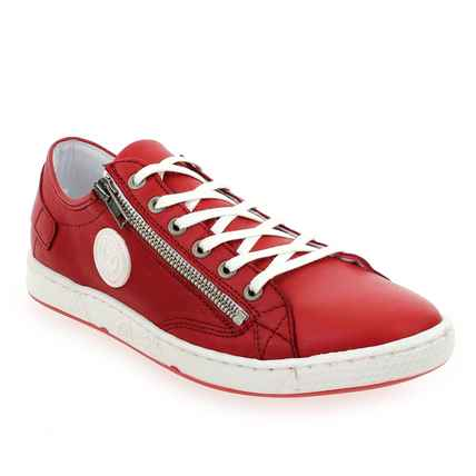 Chaussure Pataugas modèle JESTER, Rouge - vue 0