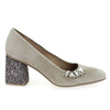 Chaussure Hispanitas modèle HV86972 MADEIRA, Velours Taupe - vue 1