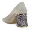 Chaussure Hispanitas modèle HV86972 MADEIRA, Velours Taupe - vue 3