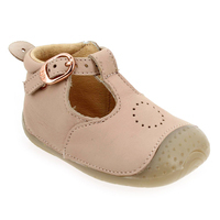 Chaussure Babybotte modèle ZILI, Rose Nude - vue 0