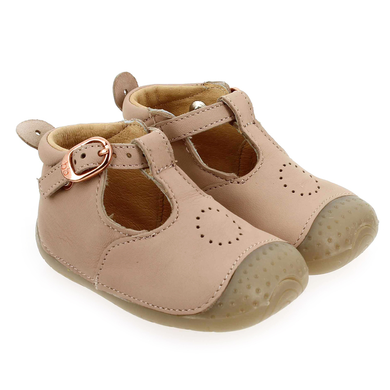 Chaussure Babybotte ZILI Rose couleur Rose Nude - vue 0