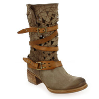 Chaussure AS98 - Airstep modèle 638202, Taupe Cognac - vue 0