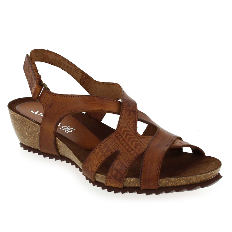 Chaussure Xapatan 4162 2822 Camel 5578701 pour Femme