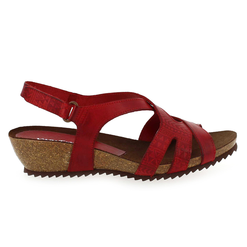 Chaussure Xapatan  4162 2822 rouge couleur Rouge - vue 1