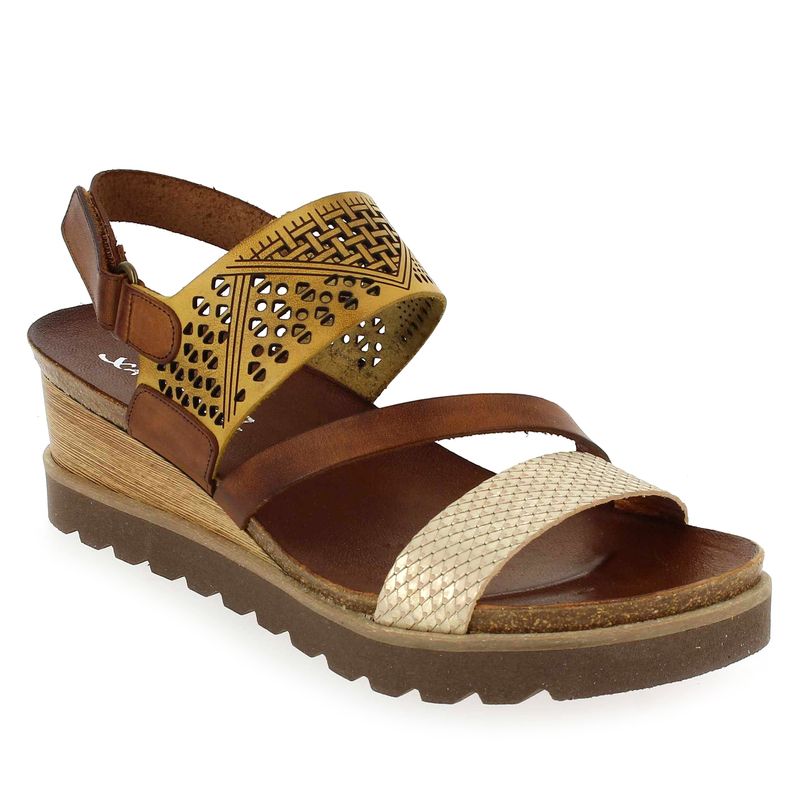 Chaussure Xapatan 5486 2820 Camel 5578801 pour Femme