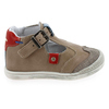Chaussure Babybotte modèle PUDDING, Taupe Rouge - vue 1