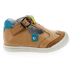 Chaussure Babybotte modèle PUDDING, Camel Turquoise - vue 1