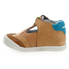 Chaussure Babybotte modèle PUDDING, Camel Turquoise - vue 2
