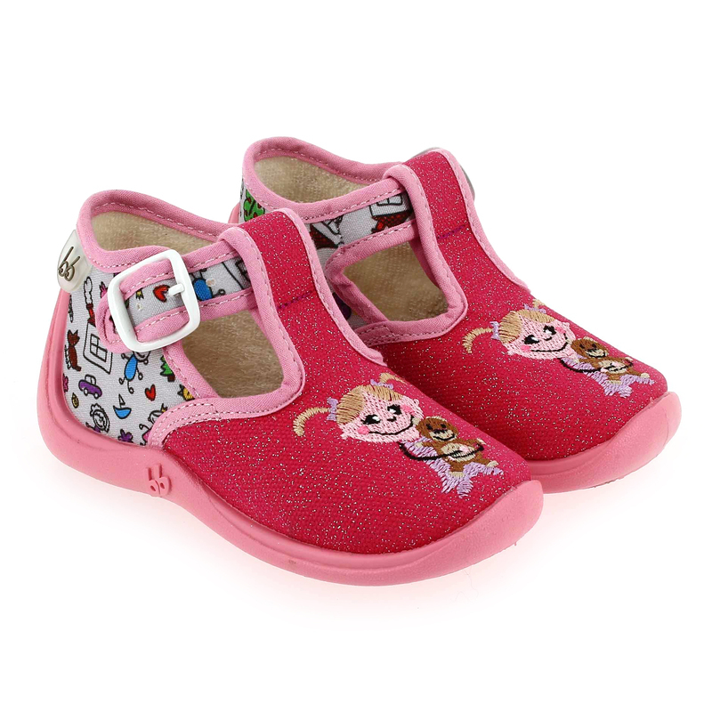 Chaussure Babybotte MIMOSA rose couleur Rose Multi  - vue 0