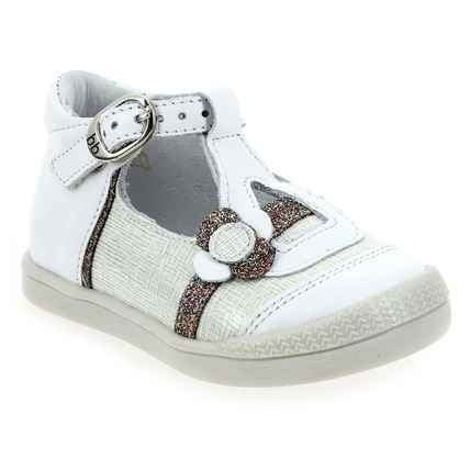 Chaussure Babybotte modèle PEARLY, Blanc - vue 0