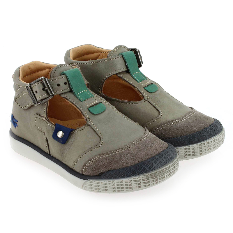 Chaussure Babybotte SONORA Gris couleur Taupe - vue 0