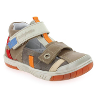 Chaussure Babybotte modèle STEPPE, Taupe Multi - vue 0
