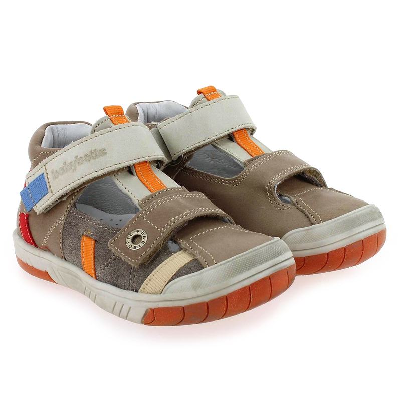 Chaussure Babybotte STEPPE marron couleur Taupe Multi - vue 0