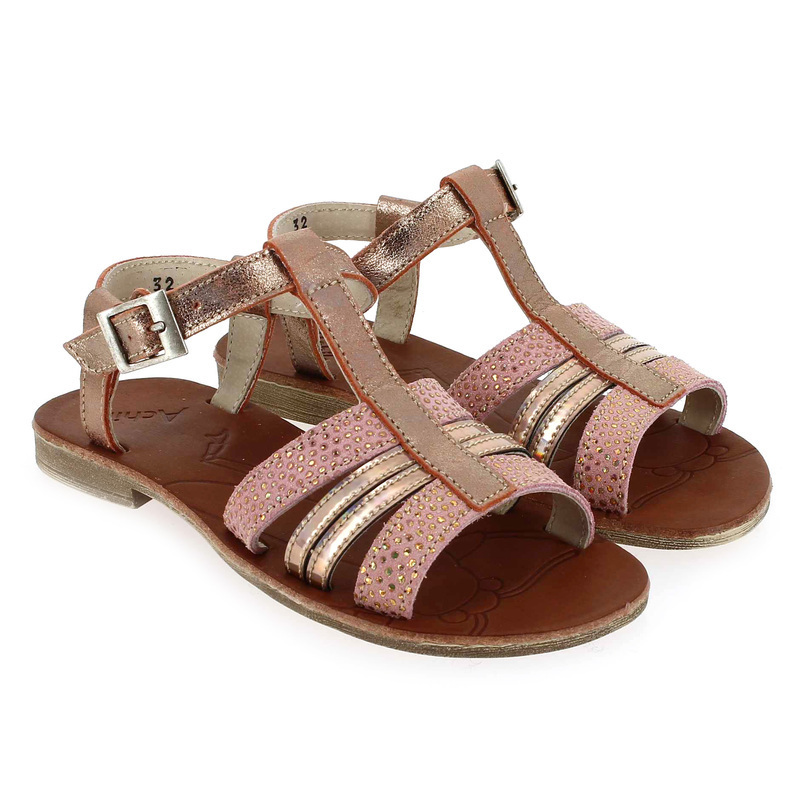 Chaussure Achile by GBB KIMITSU Rose couleur Rose Cuivre - vue 0