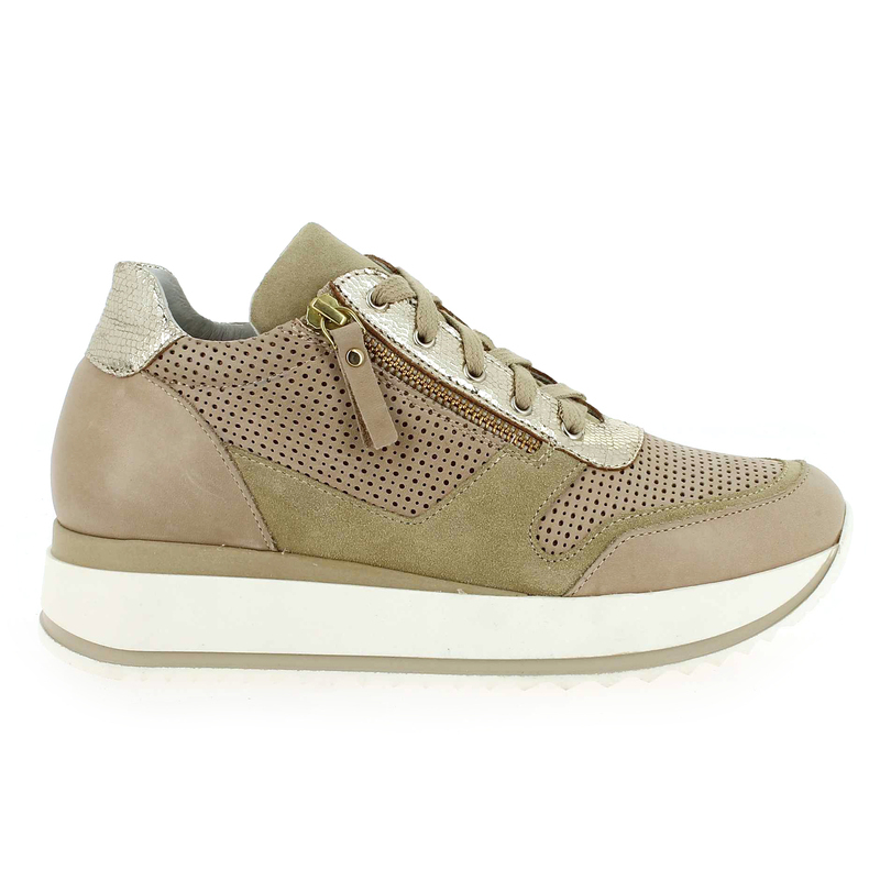Chaussure Life CHA 02 beige couleur Beige Or - vue 1