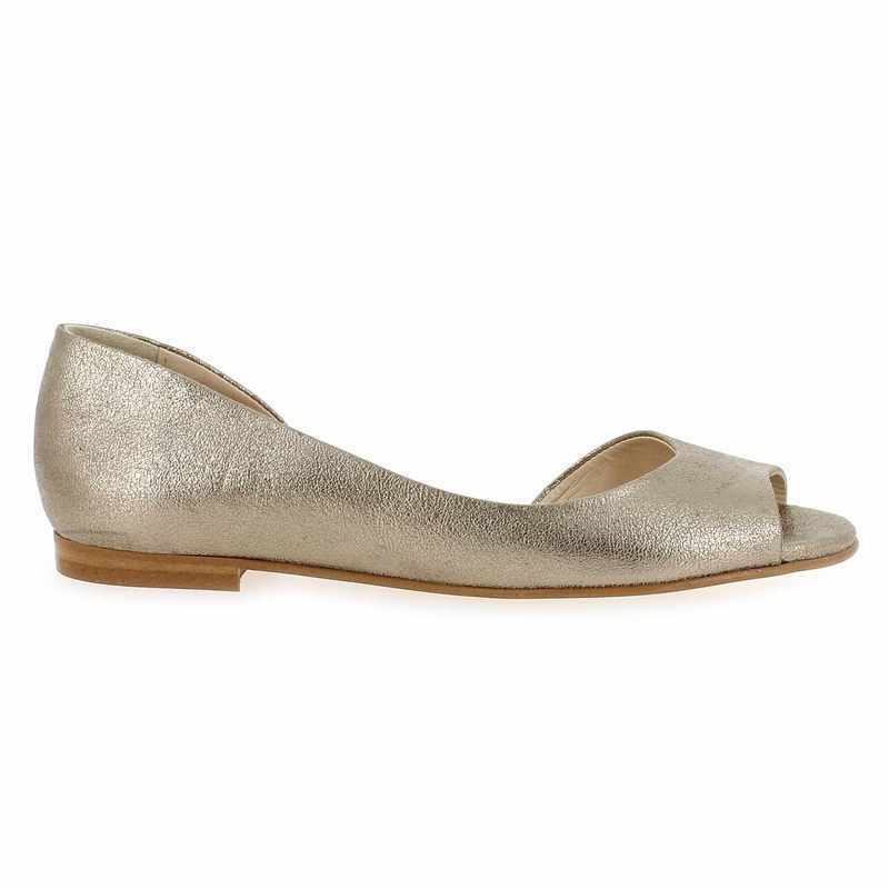 Chaussure Janie Philip HONORE argent couleur Platine - vue 1