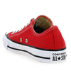Chaussure Converse modèle ALL STAR OX, Rouge - vue 3