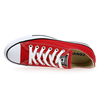 Chaussure Converse modèle ALL STAR OX, Rouge - vue 4