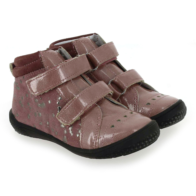 Chaussure Babybotte ANDJOY rose couleur Rose Argent  - vue 0