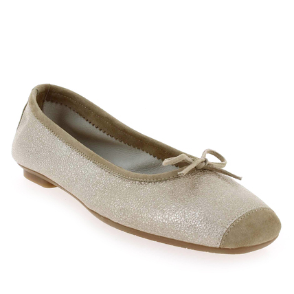 Chaussure Reqins modèle HARMONY, Taupe - vue 0