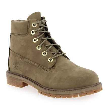 Chaussure Timberland modèle 6IN PREMIUM WP BOOT, Taupe - vue 0