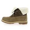 Chaussure Timberland modèle AUTHENTICS TEDDY FLEECE, Taupe - vue 2