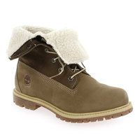 Chaussure Timberland modèle AUTHENTICS TEDDY FLEECE, Taupe - vue 0