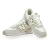 Chaussure New Balance modèle WR996, Blanc Or  - vue 2