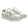 Chaussure New Balance modèle WR996, Blanc Or  - vue 5