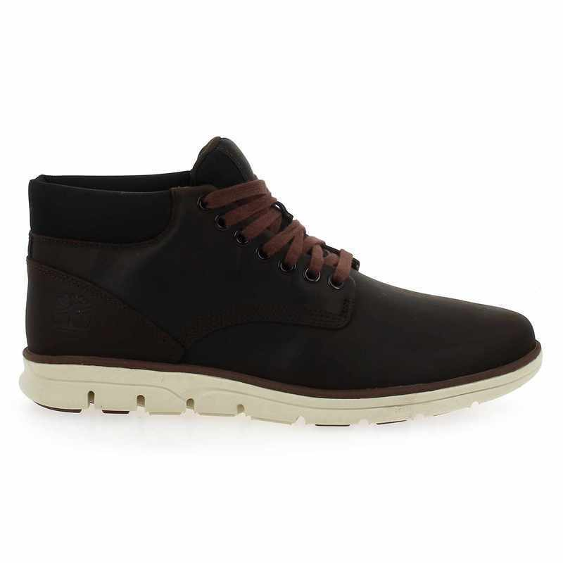 Chaussure Timberland BRADSTREET CHUKKA LEATHER marron couleur Marron - vue 1