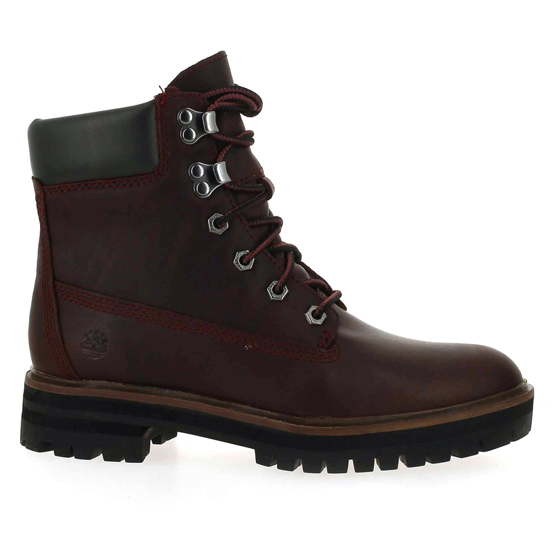 Chaussure Timberland LONDON SQUARE 6IN BO rouge couleur Bordeaux - vue 1