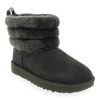 Chaussure UGG modèle FLUFF MINI QUILTED, Gris - vue 0