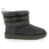 Chaussure UGG modèle FLUFF MINI QUILTED, Gris - vue 1