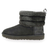 Chaussure UGG modèle FLUFF MINI QUILTED, Gris - vue 2