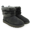 Chaussure UGG modèle FLUFF MINI QUILTED, Gris - vue 6