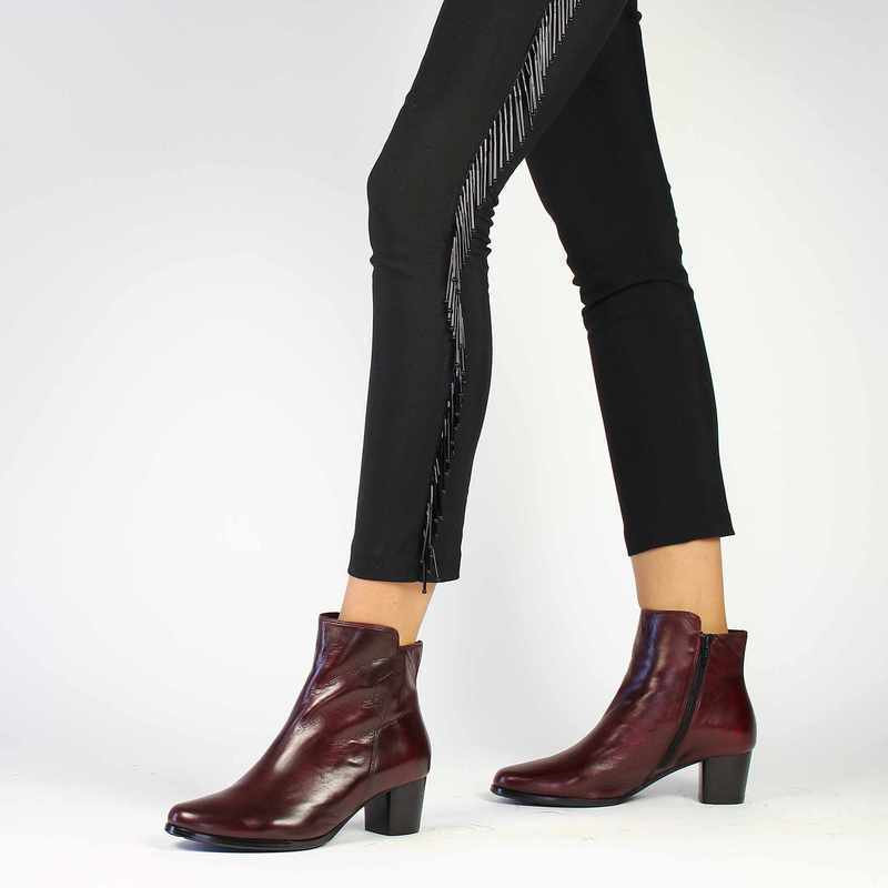 Chaussure Everybody 11879 rouge couleur Bordeaux - vue 0