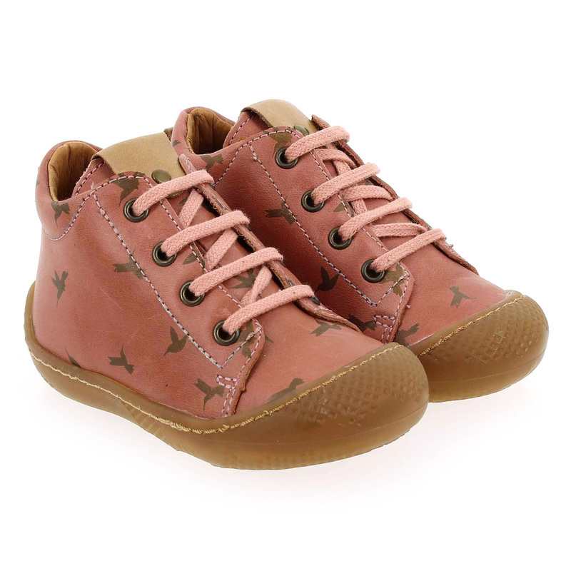 Chaussure Babybotte ANDY rose couleur Rose Cuivre - vue 0