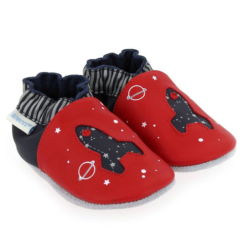 Chaussure Robeez PLANET TRAVEL rouge couleur Rouge Marine - vue 0