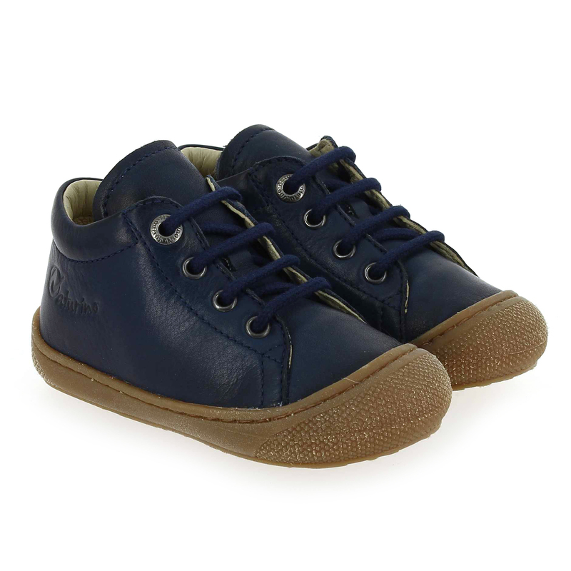 Chaussure Falcotto by Naturino COCOON LACET Bleu couleur Marine - vue 0