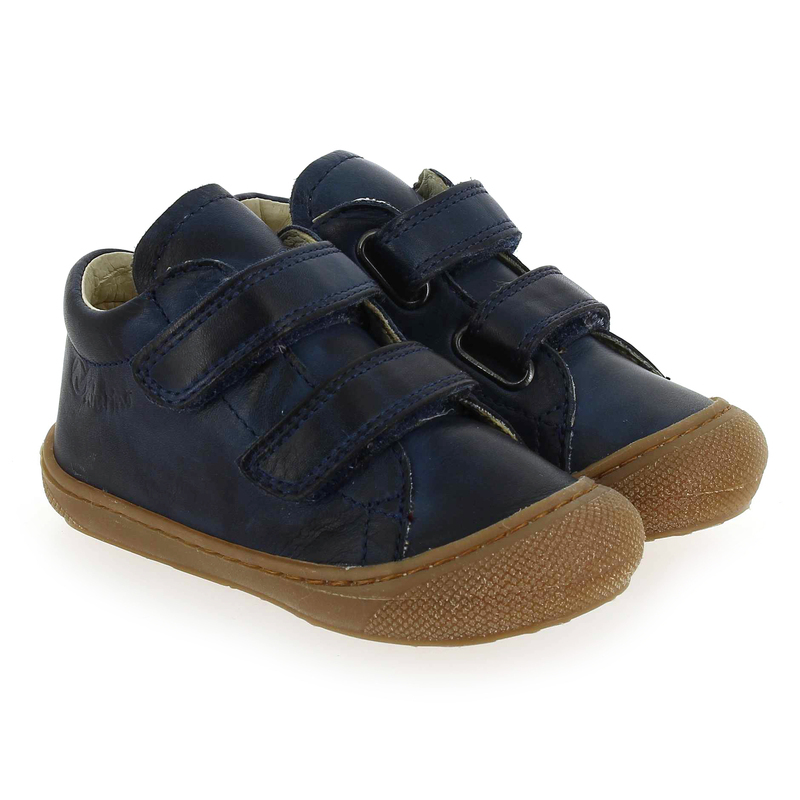 Chaussure Falcotto by Naturino COCOON VELCRO bleu couleur Marine - vue 0